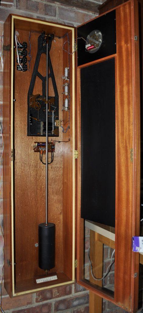 Synchronome Mk 2 Master Clock Inside