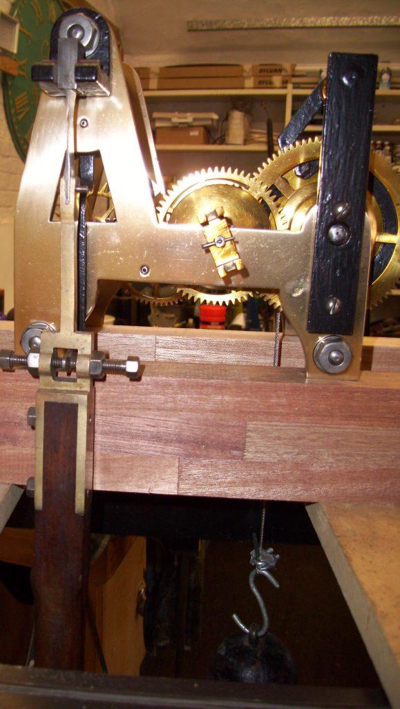 Thwaites Turret Clock Rear